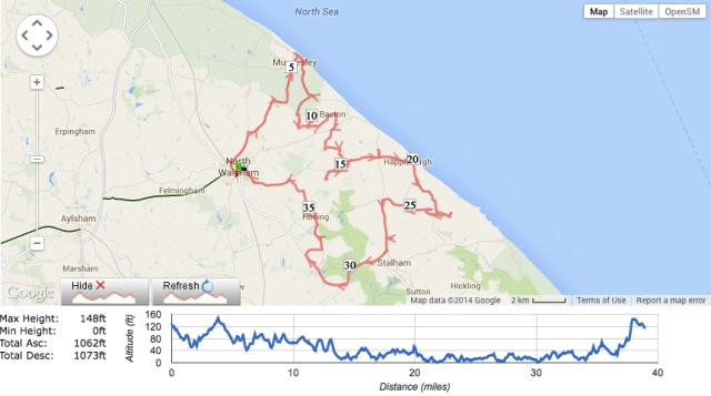 Historic_Churches_of_Norfolk_-_Route_7_cycle_route_no_3881676_-_Mapometer_com_UK